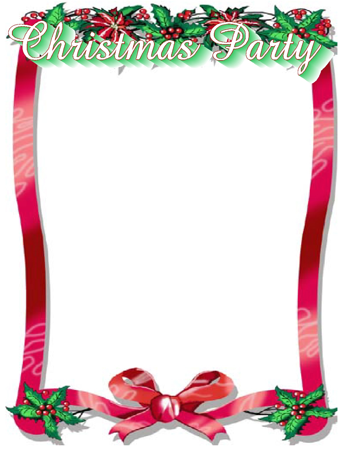 Free christmas clipart for flyers png Party Border Clipart | Free download best Party Border Clipart on ... png