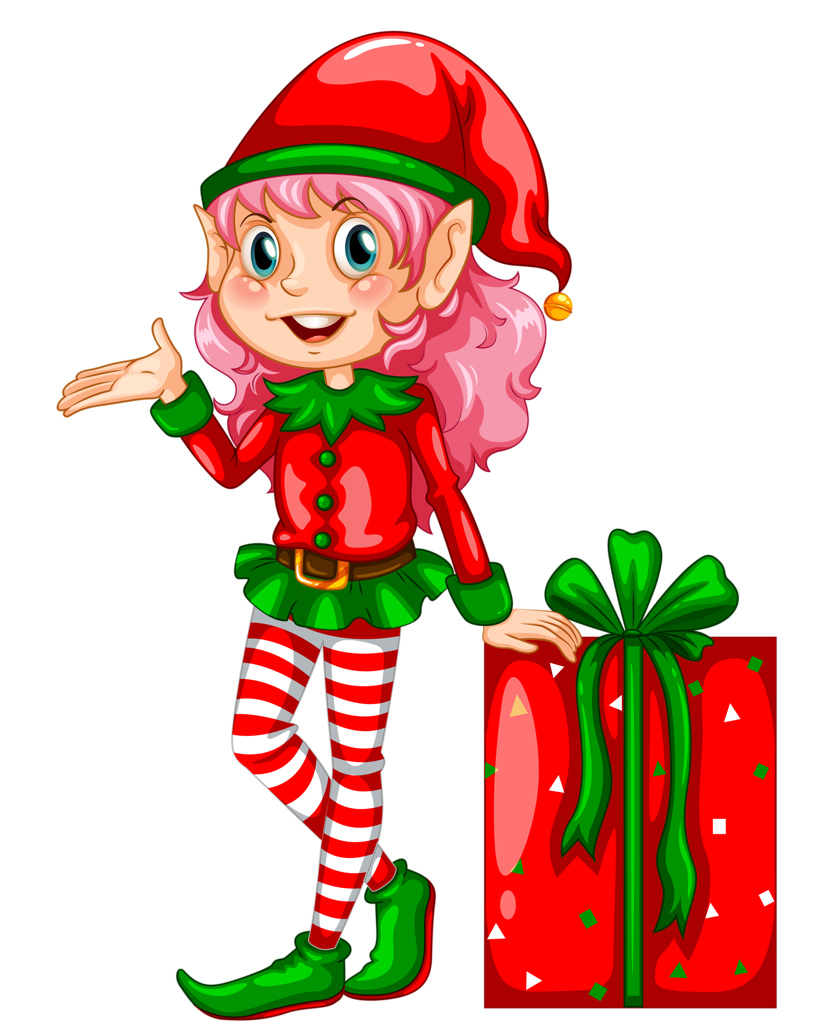 Christmas story book clipart png black and white 25.png | Pinterest | Natal, Elves and Clip art png black and white