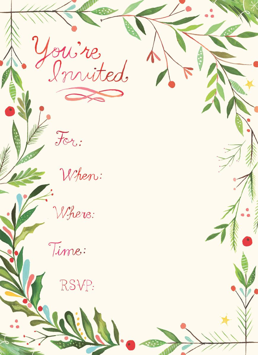 Christmas party invite clipart svg free you\'re invited - Google Search | Invitations | Holiday invitations ... svg free