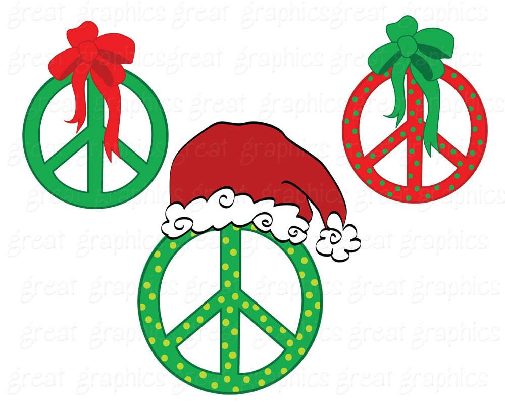 Christmas peace sign clipart royalty free download Christmas Clipart Peace Sign Clip Art Digital Clip Art Christmas Clip Art  Printable Christmas Clipart Peace Sign Clipart - Instant Download royalty free download