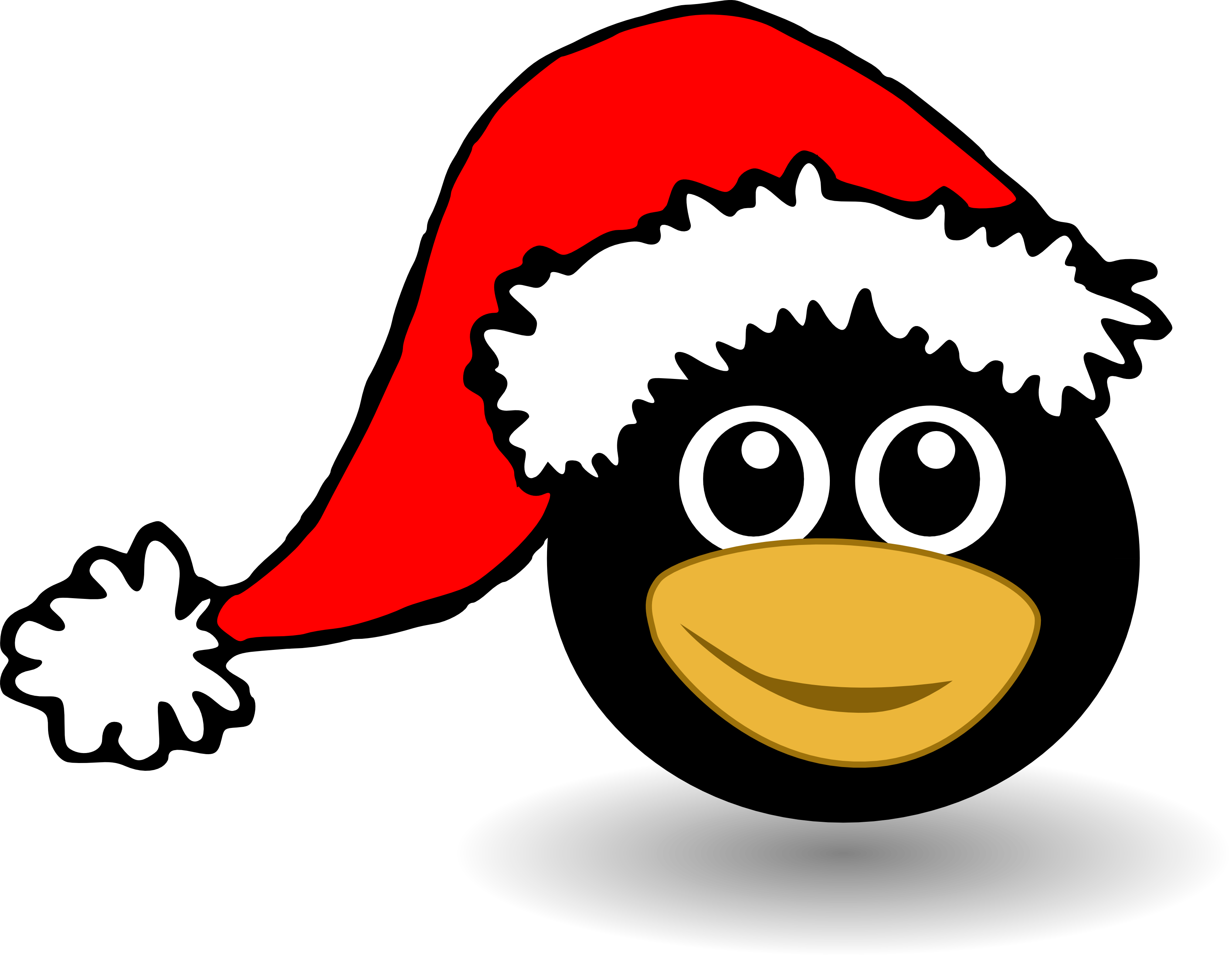 Penguin christmas clipart clip freeuse library Christmas Penguin Clipart   Clipart Panda - Free Clipart Images clip freeuse library