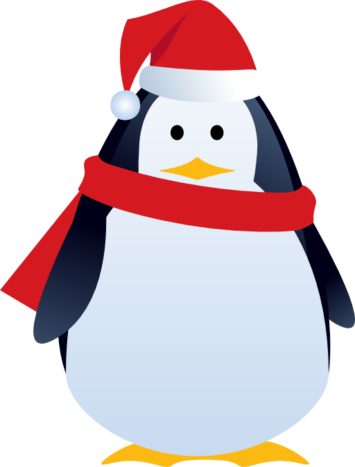 Christmas penguin clipart image royalty free stock Christmas Penguin Clip Art | Clipart Panda - Free Clipart Images image royalty free stock