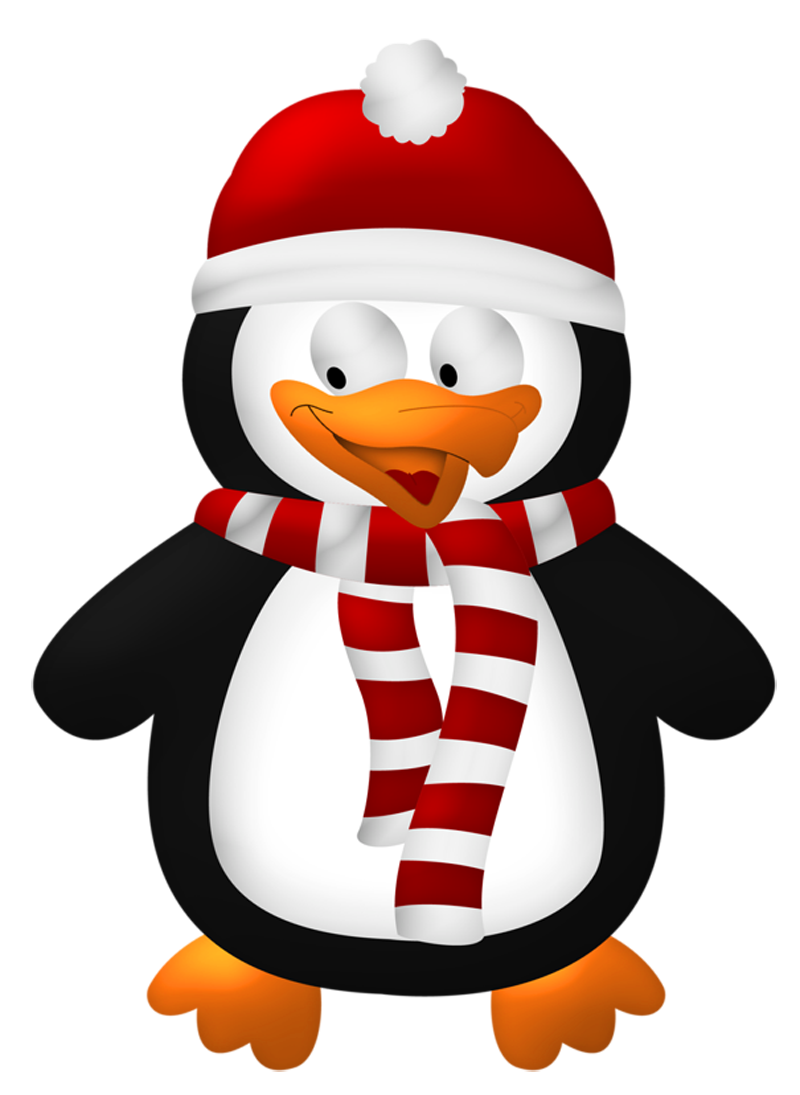 Cute christmas penguin clipart svg transparent stock Cute Christmas Penguin Transparent PNG Clipart | Gallery ... svg transparent stock