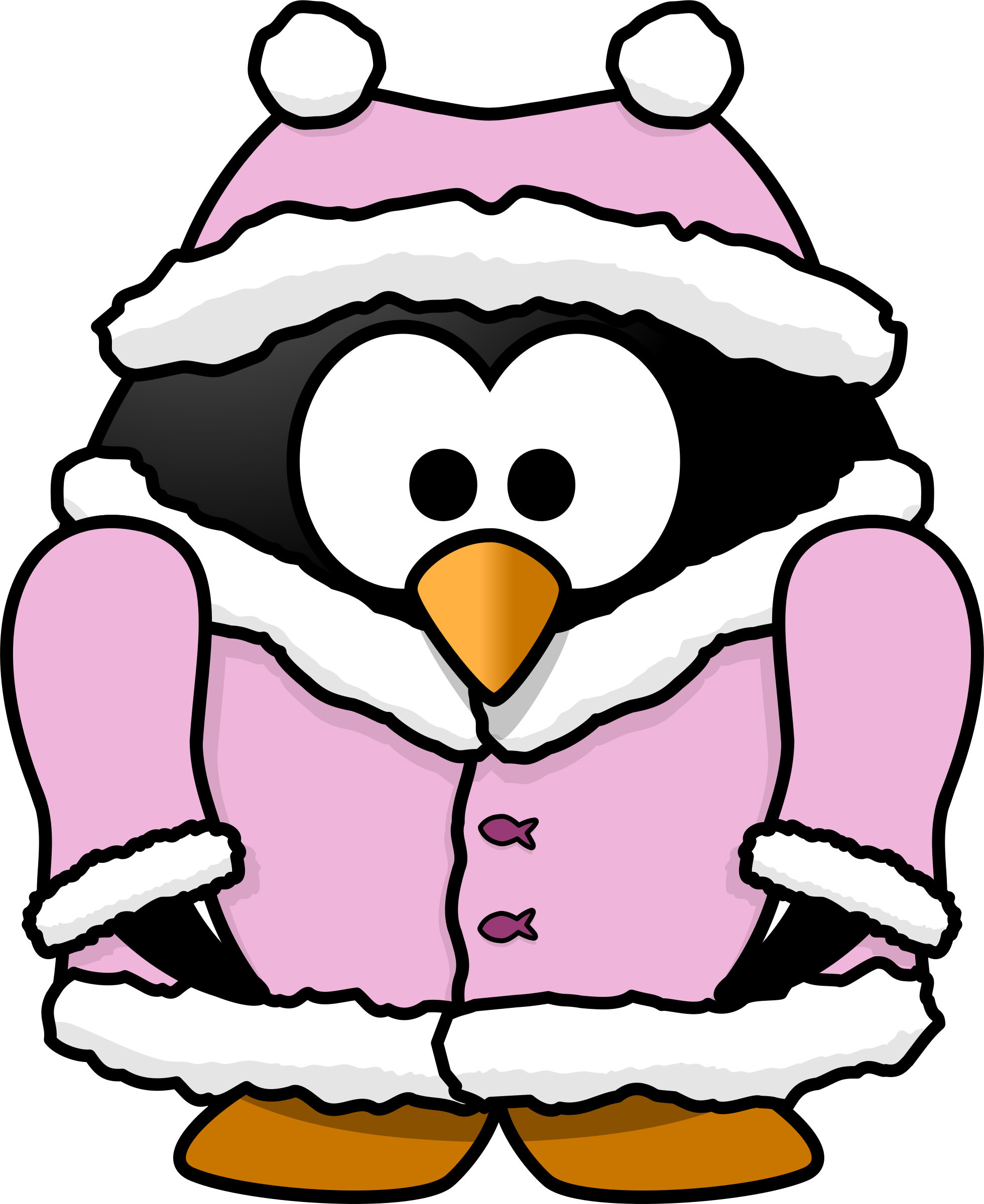 Christmas penguin family clipart clip art download Winter Animals Clipart at GetDrawings.com | Free for personal use ... clip art download
