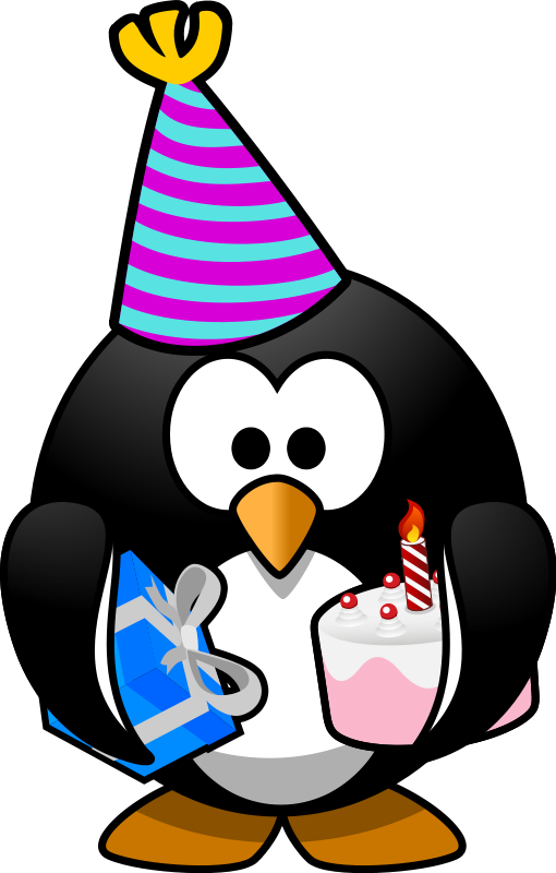 Christmas penguin family clipart svg free download Birthday Penguin Clip Art | Clipart Panda - Free Clipart Images svg free download