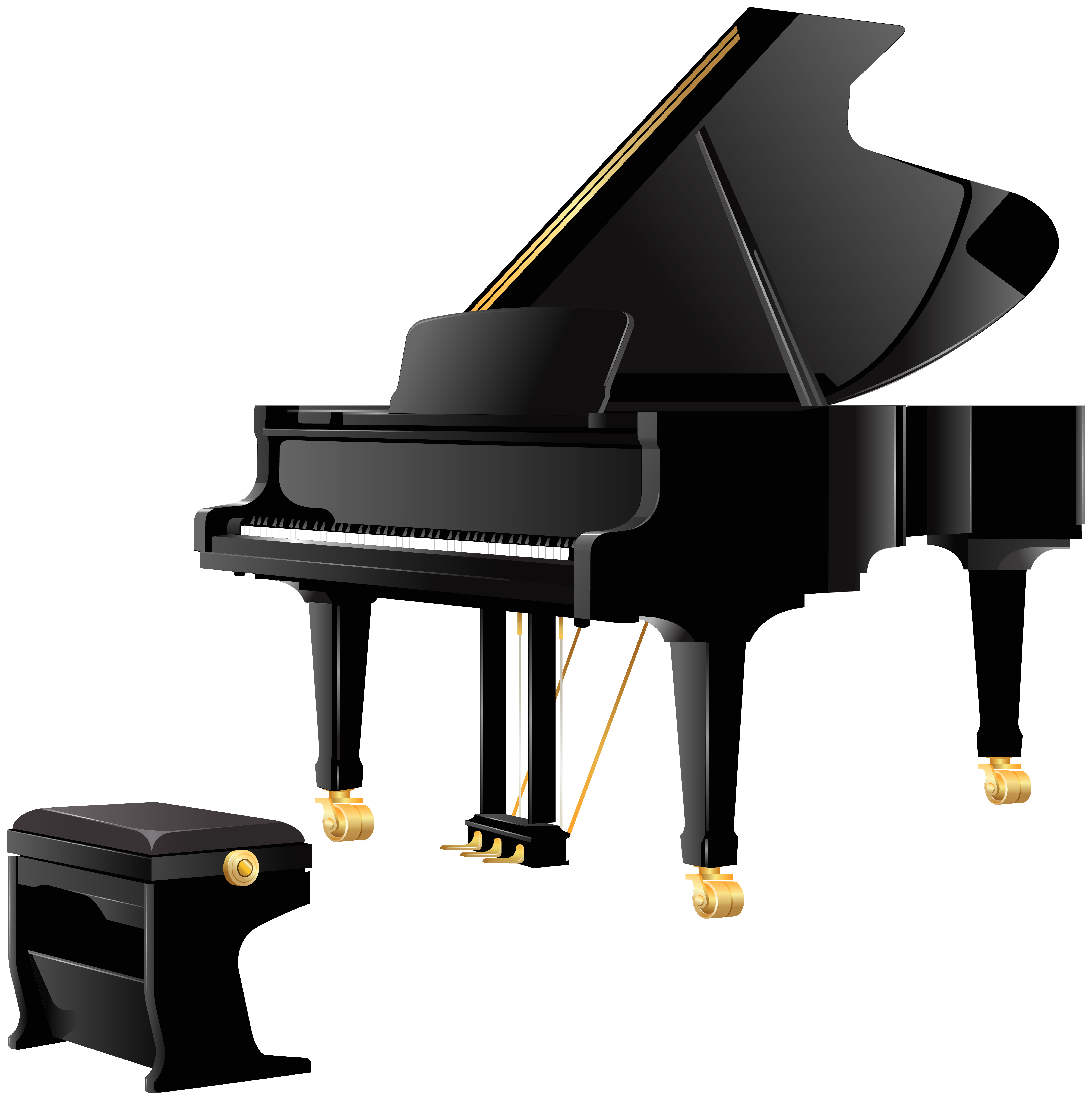 Christmas piano clipart jpg transparent Royal Grand Piano PNG Clipart - Best WEB Clipart jpg transparent