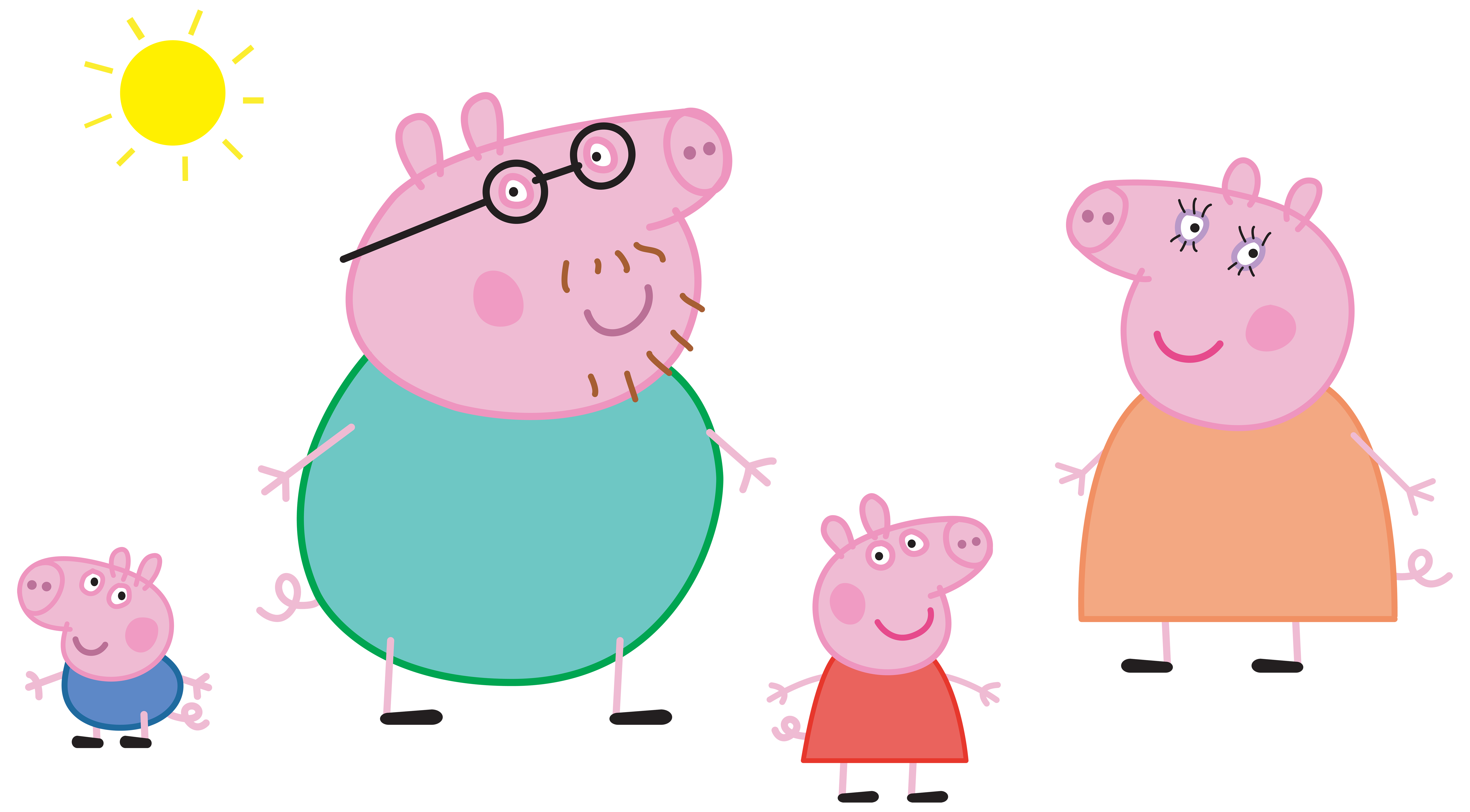 Pig halloween clipart graphic library 28+ Collection of Peppa Pig Christmas Clipart | High quality, free ... graphic library