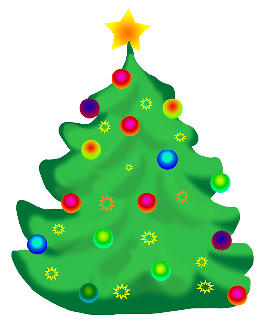 Christmas tree clipart png jpg free library Christmas Tree Clip Art jpg free library