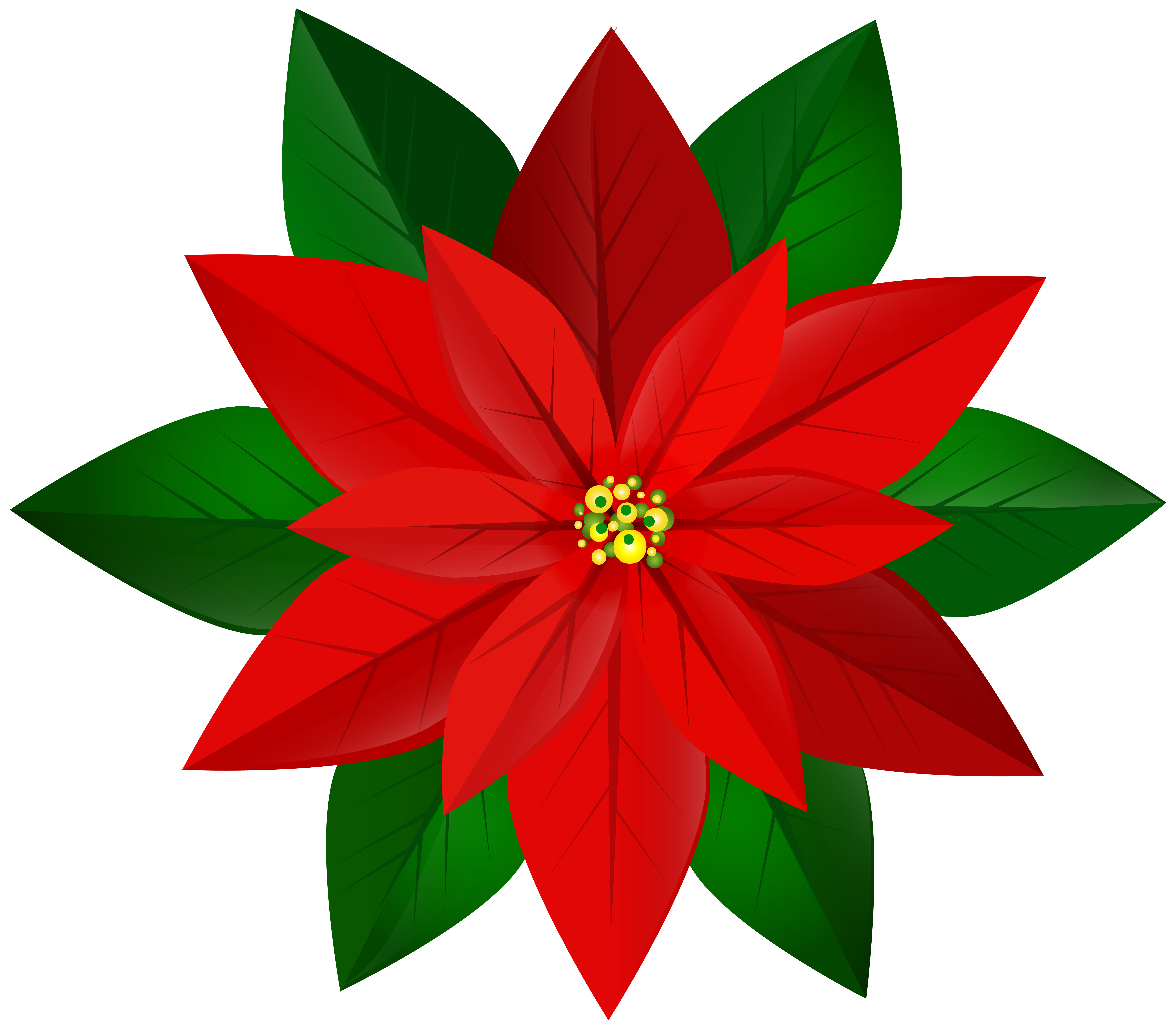 Clipart poinsettia flower svg free Christmas Red Poinsettia PNG Clip Art Image | Gallery Yopriceville ... svg free