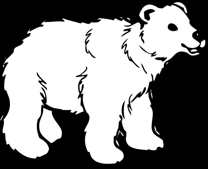 Christmas polar bear clipart png black and white download Polar Bear Clipart & Animations png black and white download