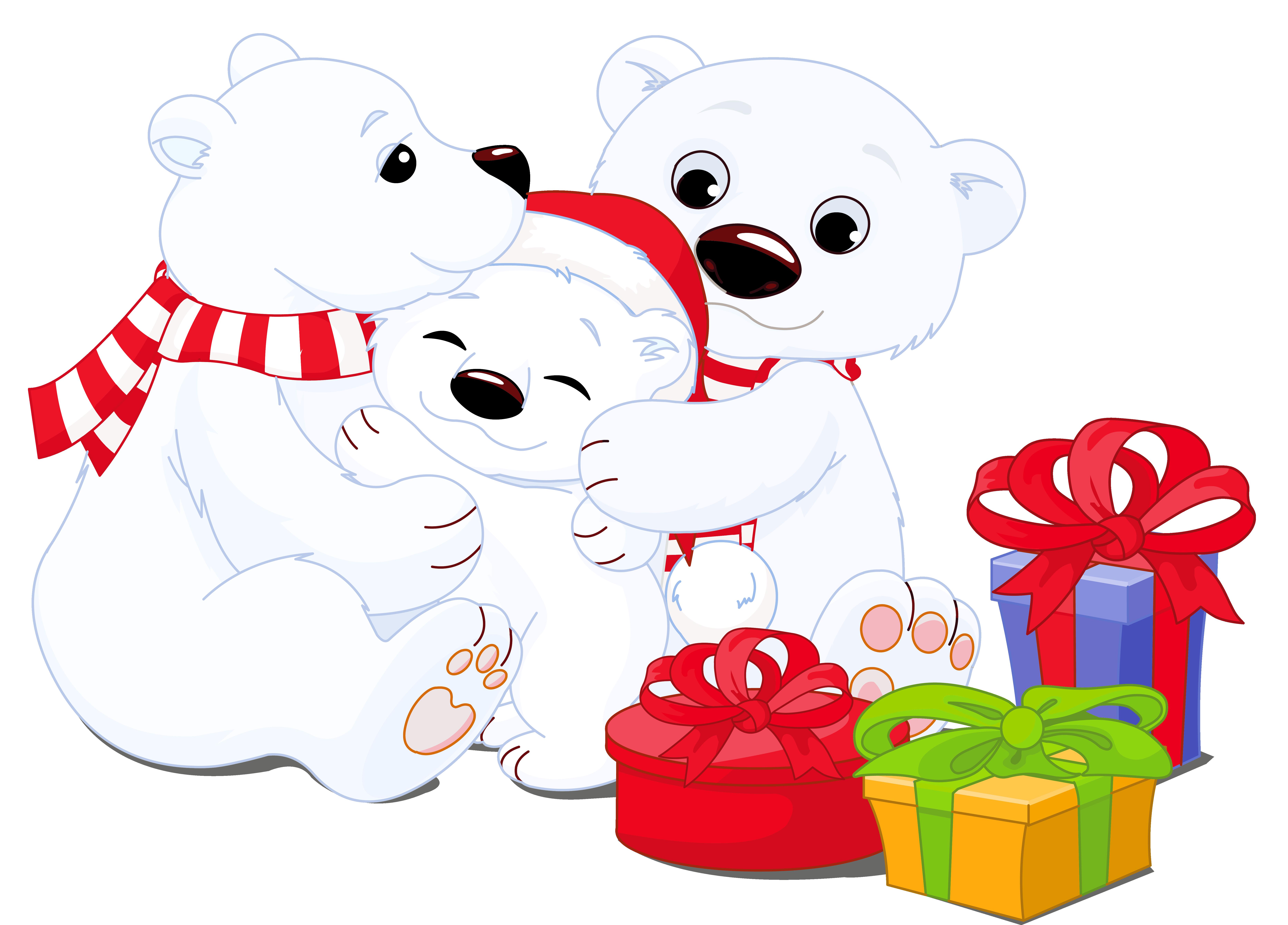 Christmas polar bear clipart jpg free 28+ Collection of Polar Bear Clipart Transparent | High quality ... jpg free