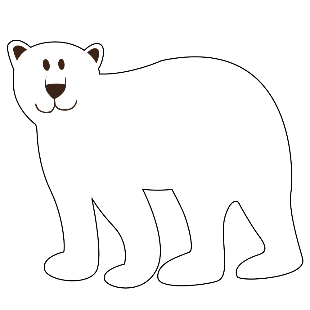 Christmas polar bear clipart graphic download Christmas Polar Bear Clipart | Clipart Panda - Free Clipart Images graphic download