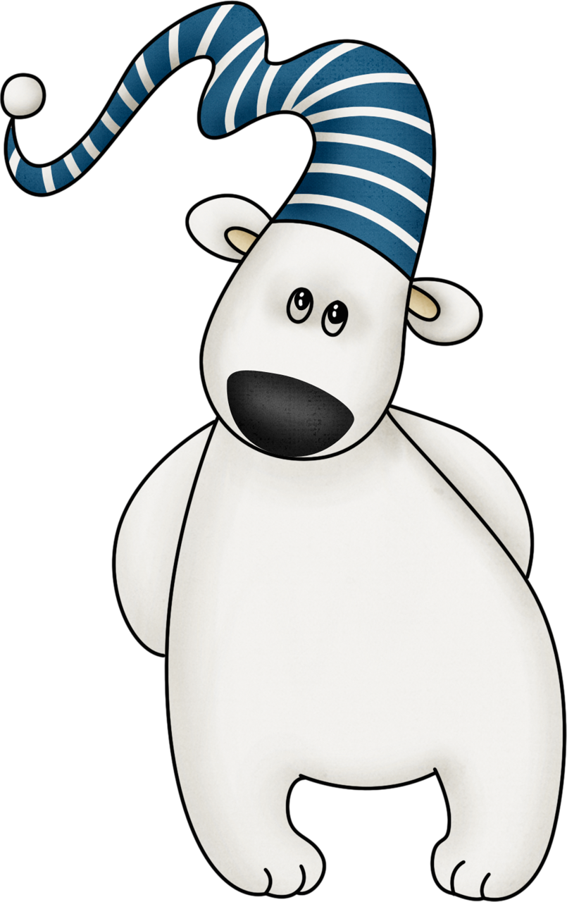 Christmas polar bear clipart image royalty free Mis Laminas para Decoupage | Pinterest | Polar bear, Clip art and Bears image royalty free