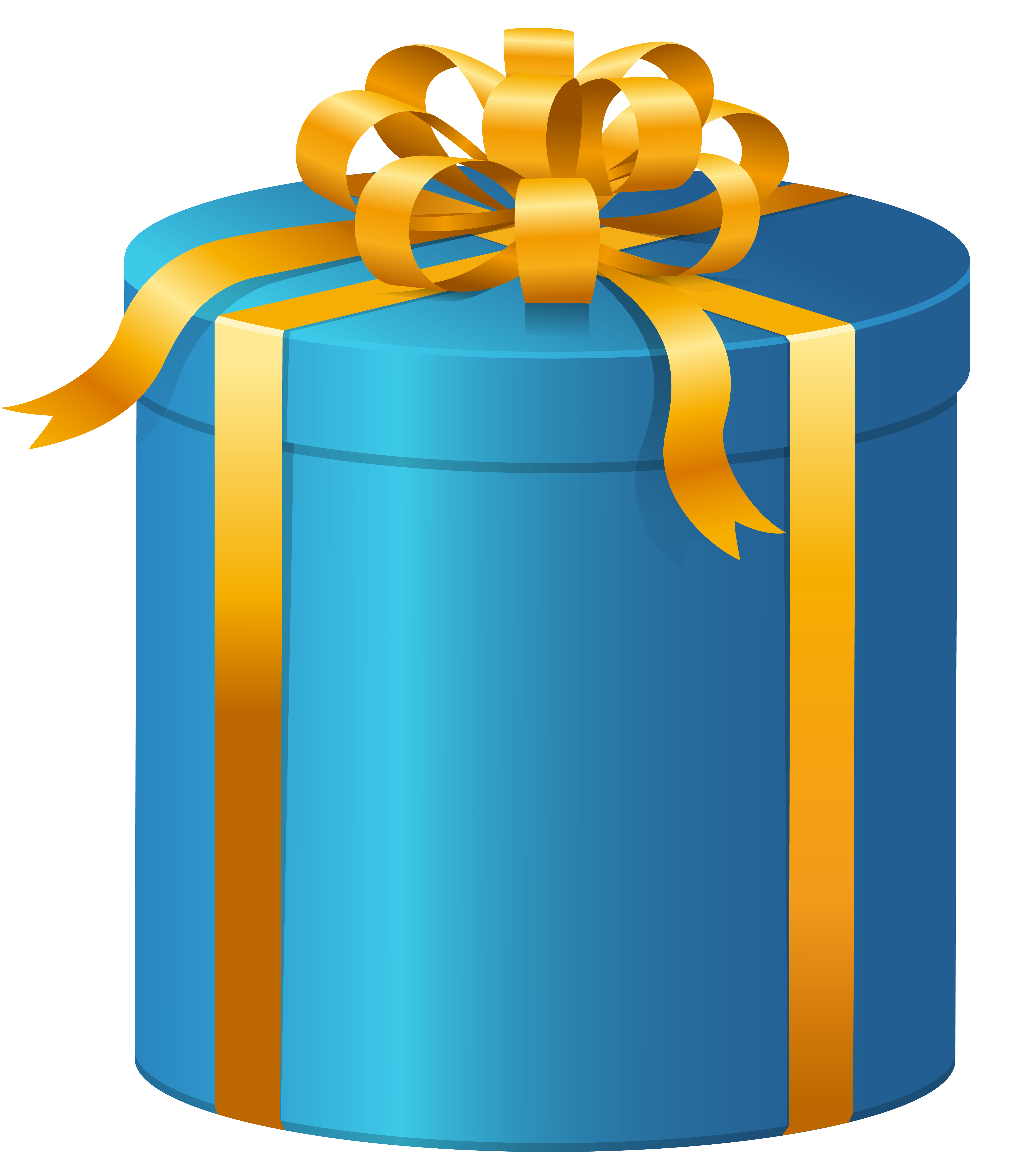 Christmas present clipart transparent stock Blue Present Box PNG Clip Art - Best WEB Clipart transparent stock