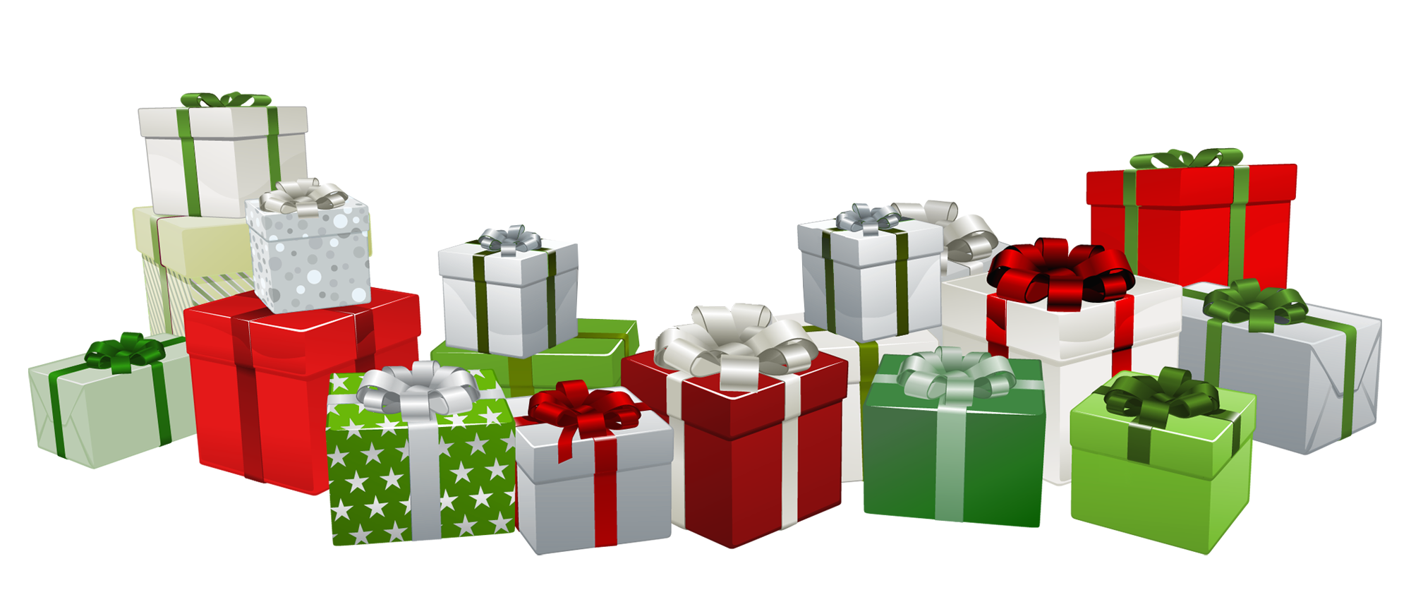 Christmas presents clipart graphic library Transparent Presents PNG Clipart | Gallery Yopriceville - High ... graphic library
