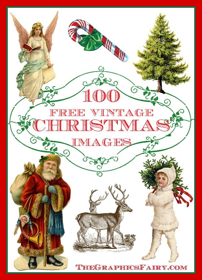 Christmas printables clipart jpg royalty free stock 100 Free Christmas Images - The Graphics Fairy jpg royalty free stock