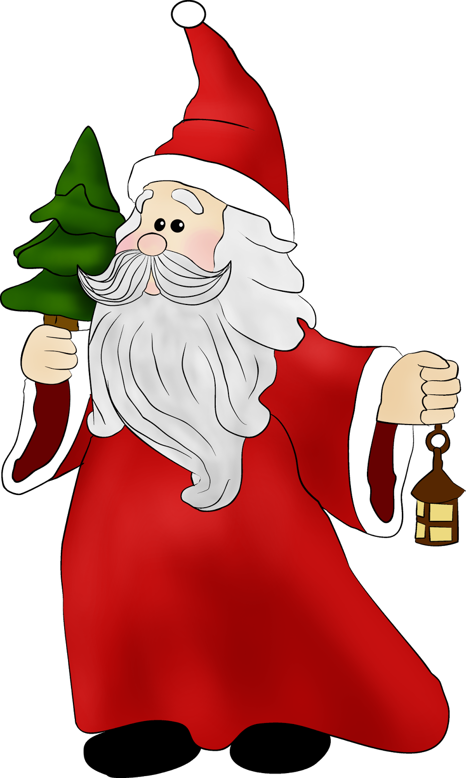 Christmas printables clipart clipart freeuse CHRISTMAS SANTA CLIP ART | velas | Pinterest | Clip art, Santa and Natal clipart freeuse
