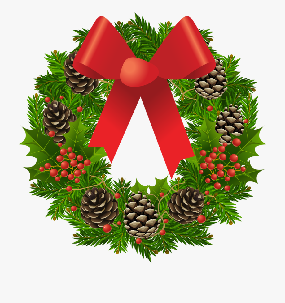 Wreath clipart transparent png transparent stock Vector Royalty Free Library Transparent Wreath Picture - Christmas ... png transparent stock