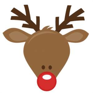 Christmas reindeer head clipart clip transparent stock Cute Reindeer Head SVG cutting files for scrapbooking cute cut files ... clip transparent stock