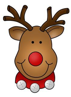 Christmas reindeer pictures clipart