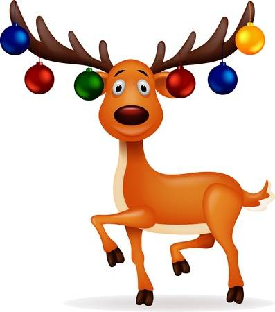Clipart reindeer jpg royalty free stock 51 405 Christmas Reindeer Stock Vector Illustration And Royalty Free ... jpg royalty free stock