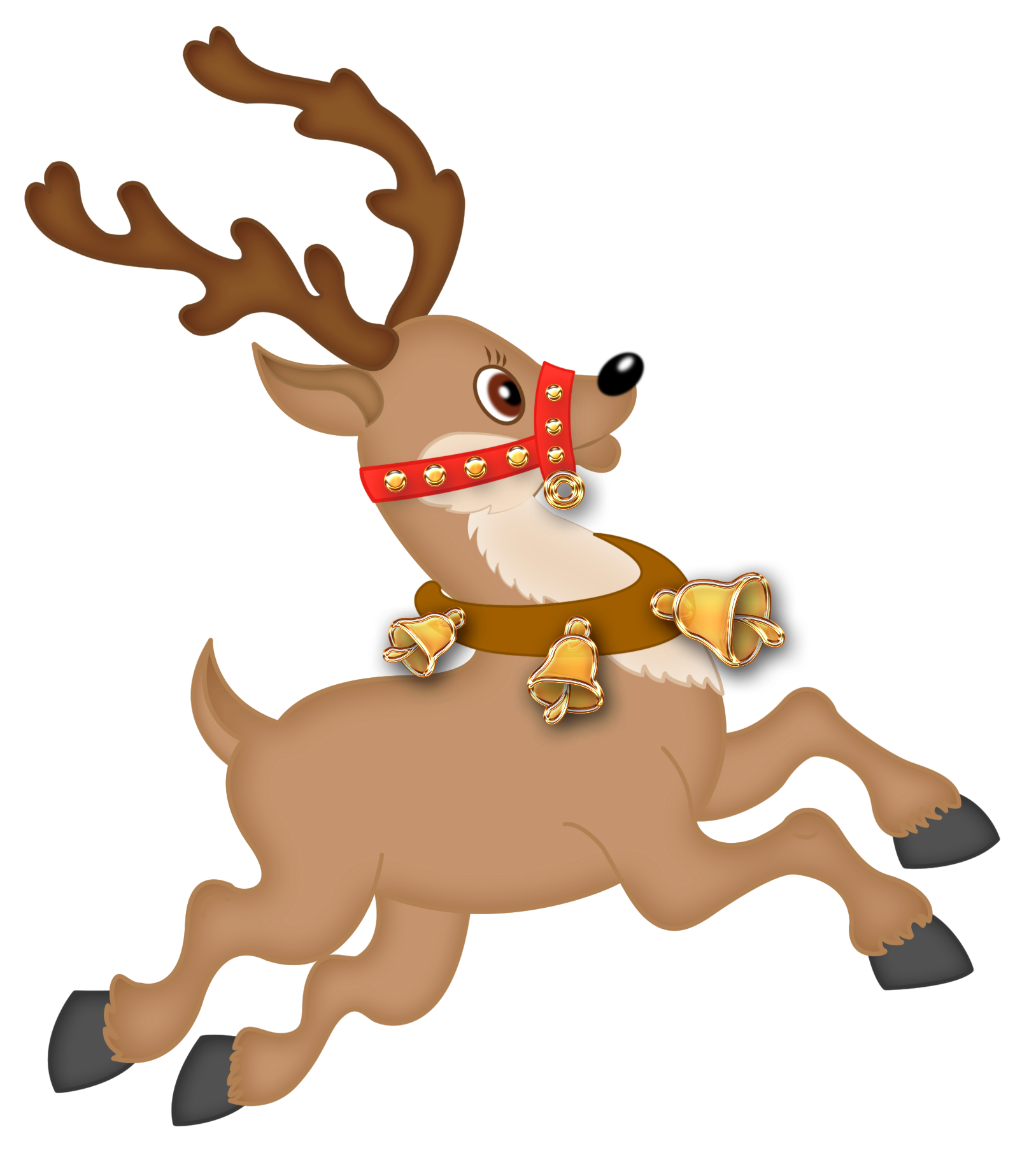 Reindeer sayings clipart free vector black and white Free Christmas Reindeer Images, Download Free Clip Art, Free Clip ... vector black and white