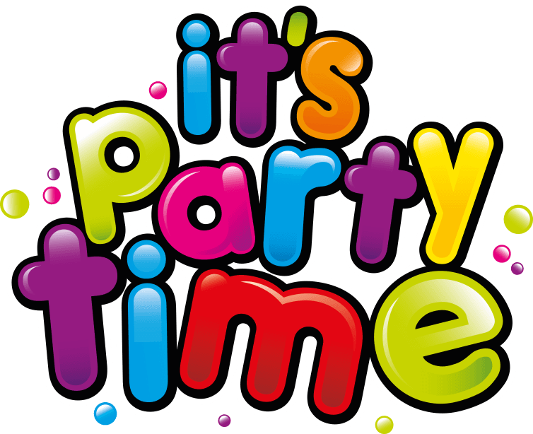 Christmas reminder clipart black and white stock its-party-time « Bathgate Early Years Centre black and white stock