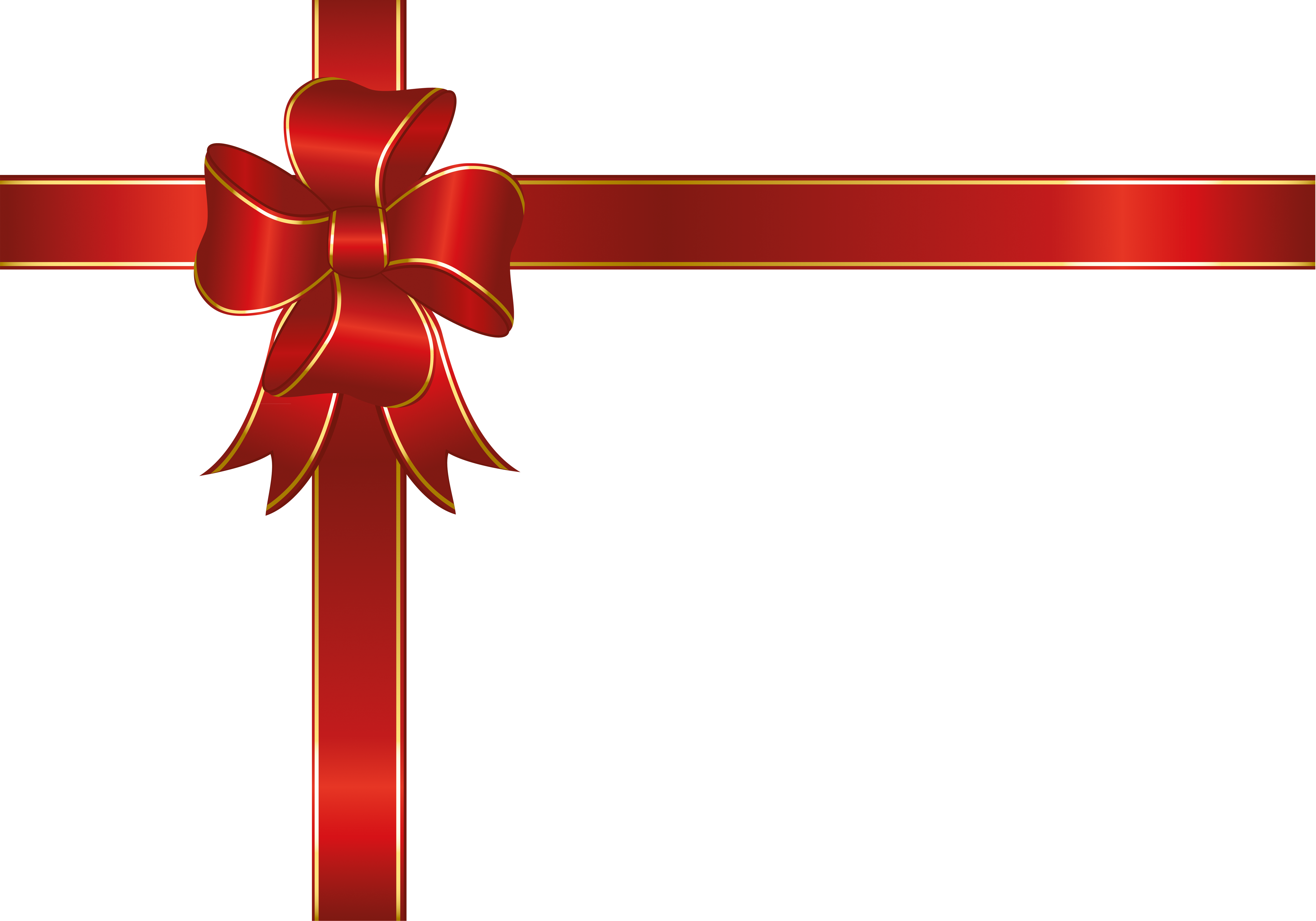 Christmas ribbon border clipart vector library library Ribbon HF MUSIC STUDIO 9th - Creative Christmas bow,Red ribbon bow ... vector library library