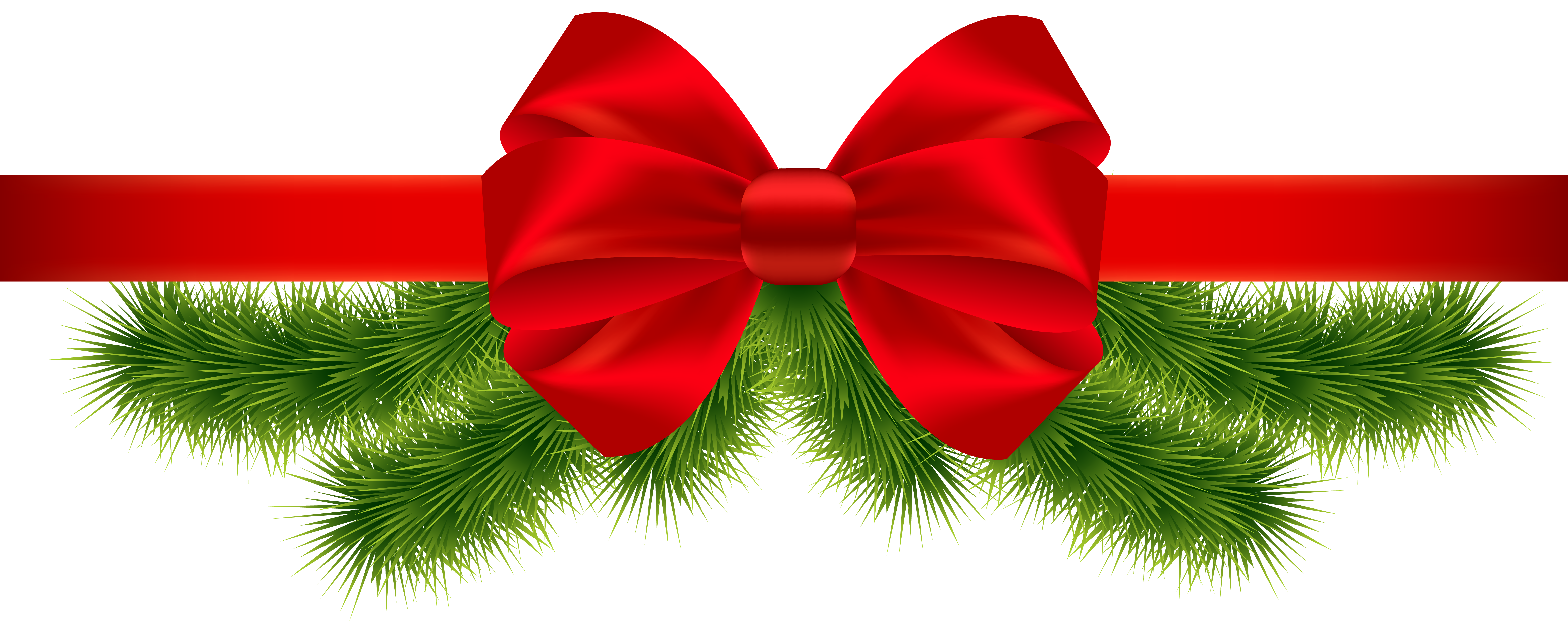 Red christmas bow clipart image transparent stock Christmas-Ribbon-Transparent.png (6243×2534) | Desenler | Pinterest ... image transparent stock