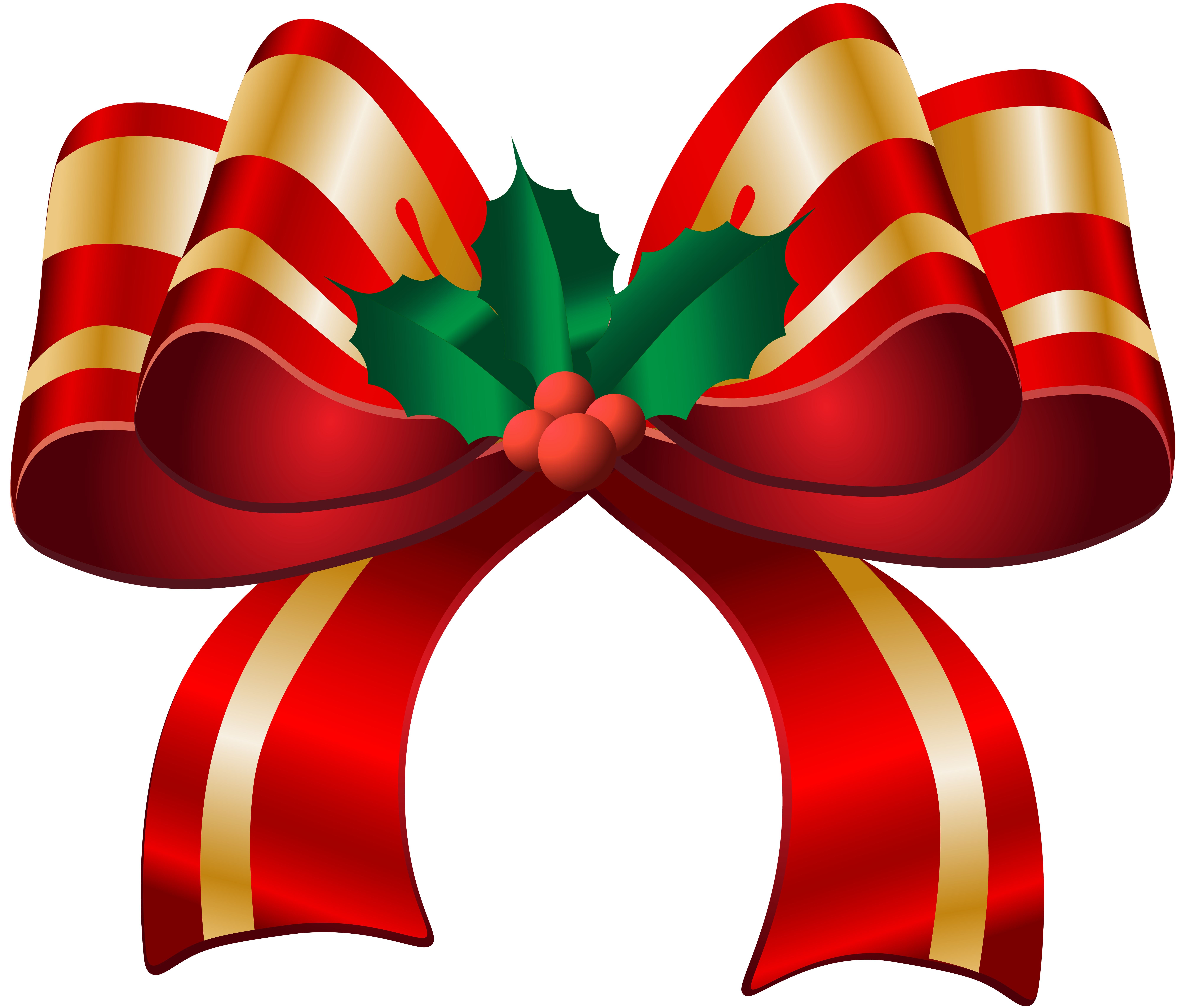 Christmas ribbons clipart vector transparent Free Christmas Bow Cliparts, Download Free Clip Art, Free Clip Art ... vector transparent