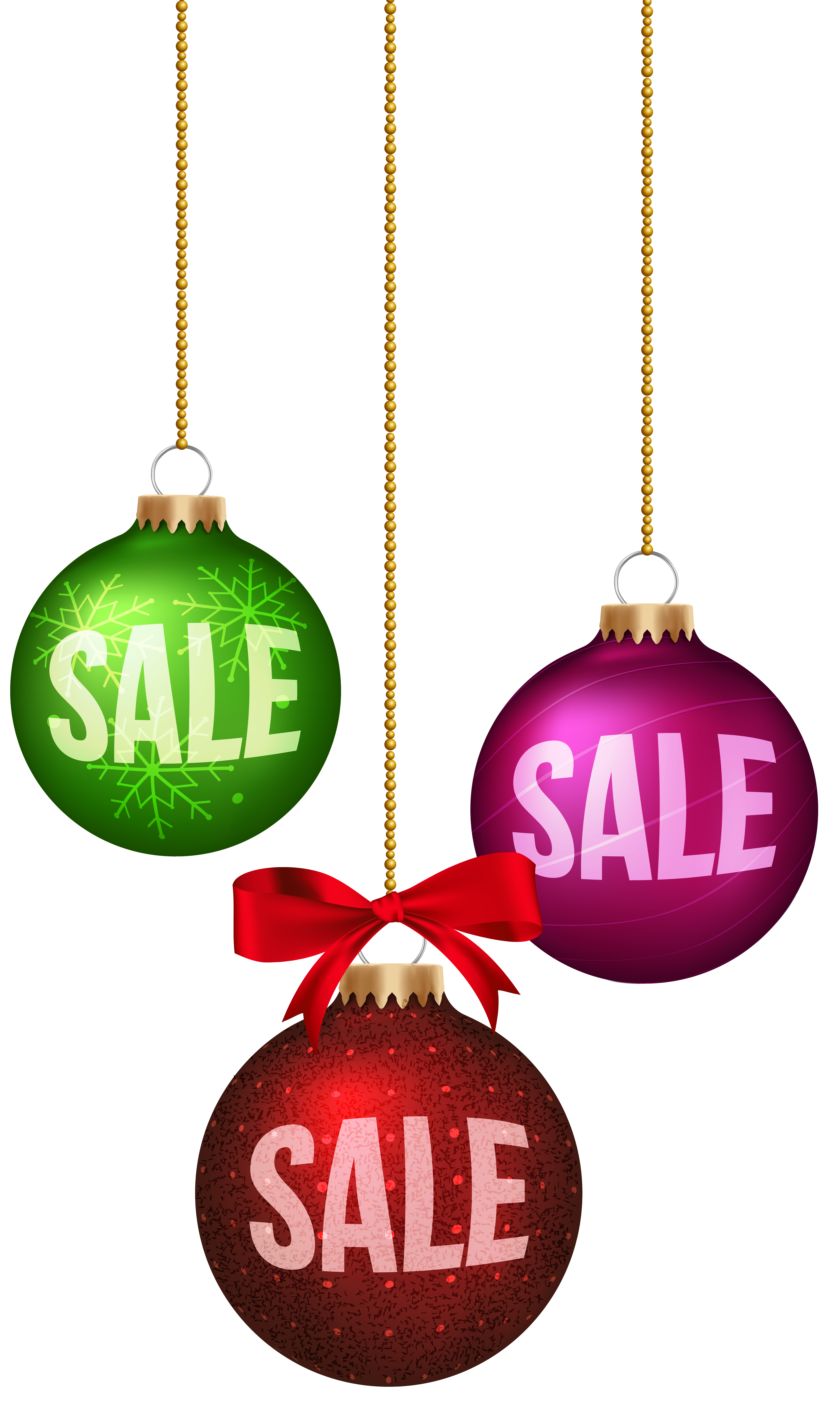 Christmas sale clipart graphic royalty free stock Christmas Balls Sale Decoration PNG Clip Art Image | Gallery ... graphic royalty free stock