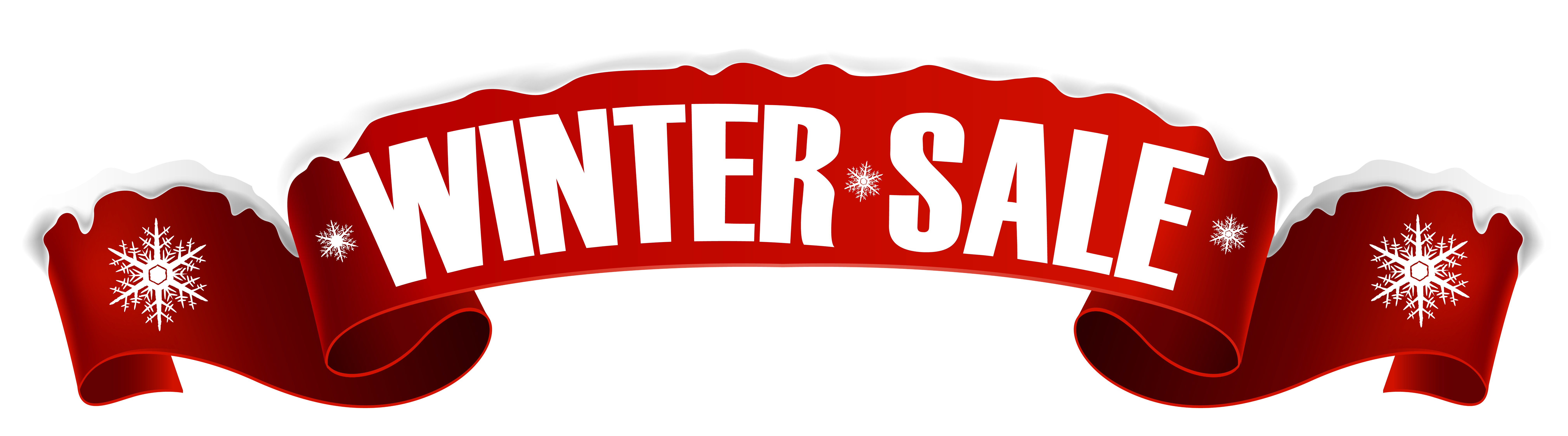 Christmas sale clipart royalty free Winter Sale Banner Transparent PNG Clip Art Image | Gallery ... royalty free