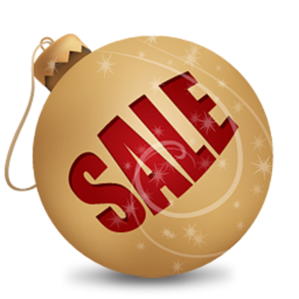 Christmas sale clipart clipart black and white Christmas Sale Ball 1 | Free Images at Clker.com - vector clip art ... clipart black and white