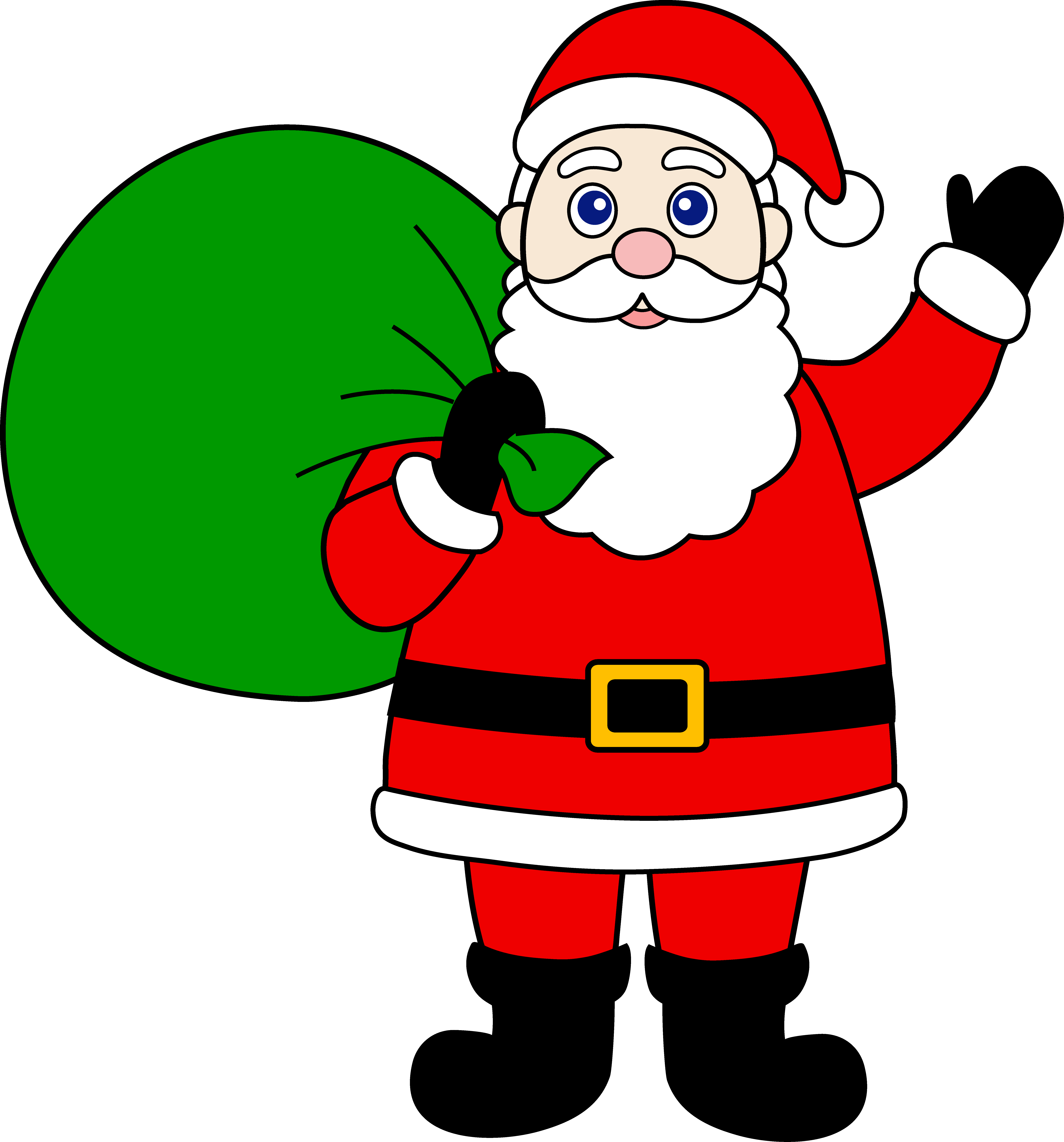 Free santa clause clipart graphic library download Christmas Santa Claus Clipart | Clipart Panda - Free Clipart Images graphic library download
