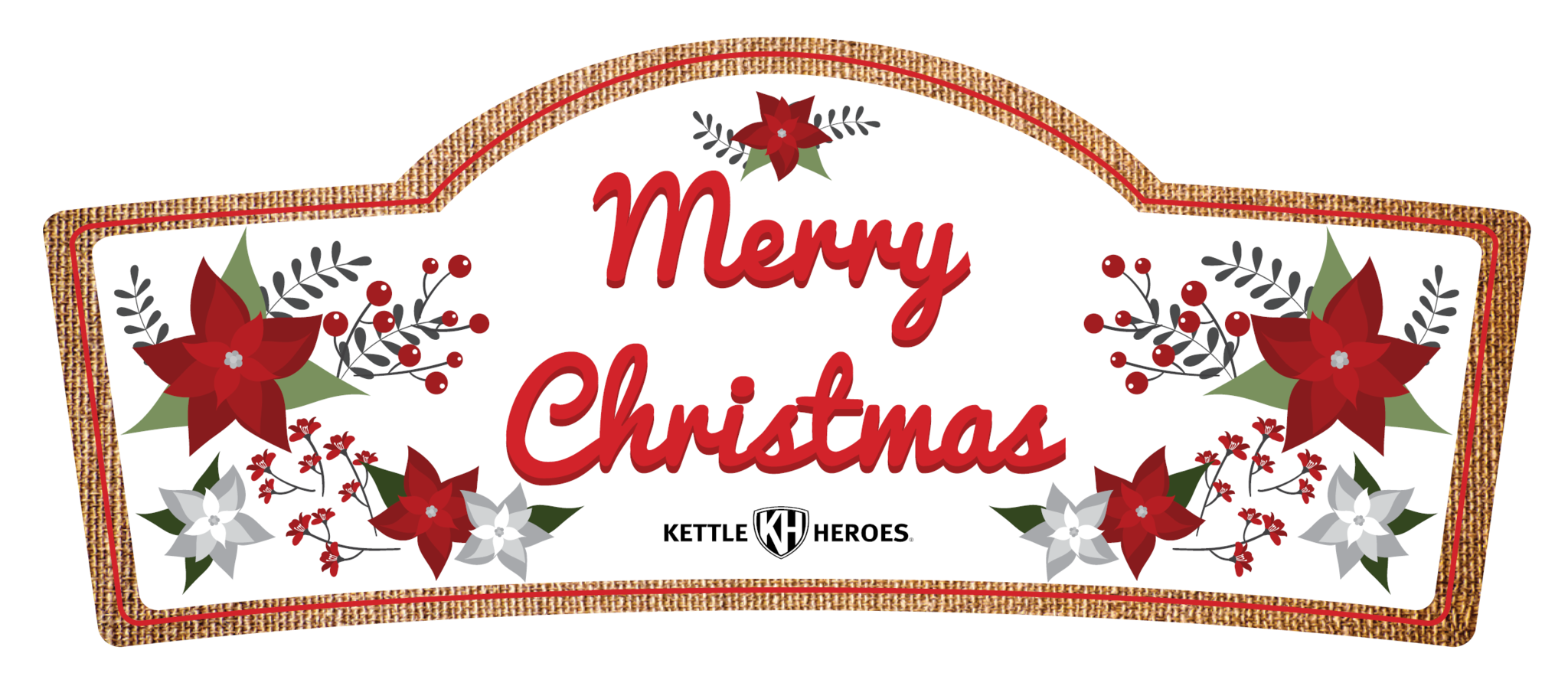 Christmas save the date clipart svg black and white download Merry Christmas - Popcorn Gift Tin – Kettle Heroes Artisan Popcorn svg black and white download