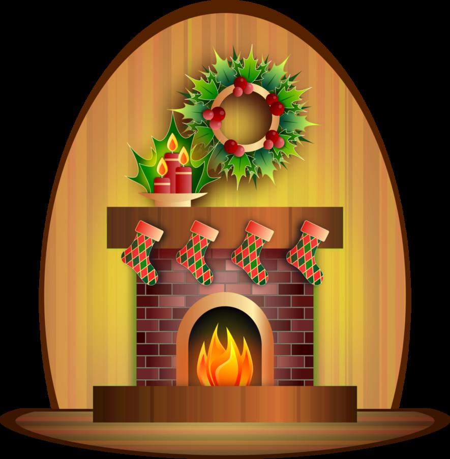 Christmas scene clipart clip art Christmas Fireplace by Viscious-Speed on DeviantArt clip art