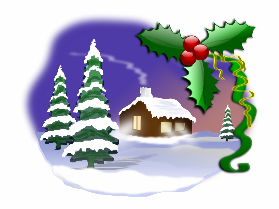 Christmas scene clipart free svg library download Free Christmas 001 Free Motorcycle Silhouette Vector - Christmas ... svg library download