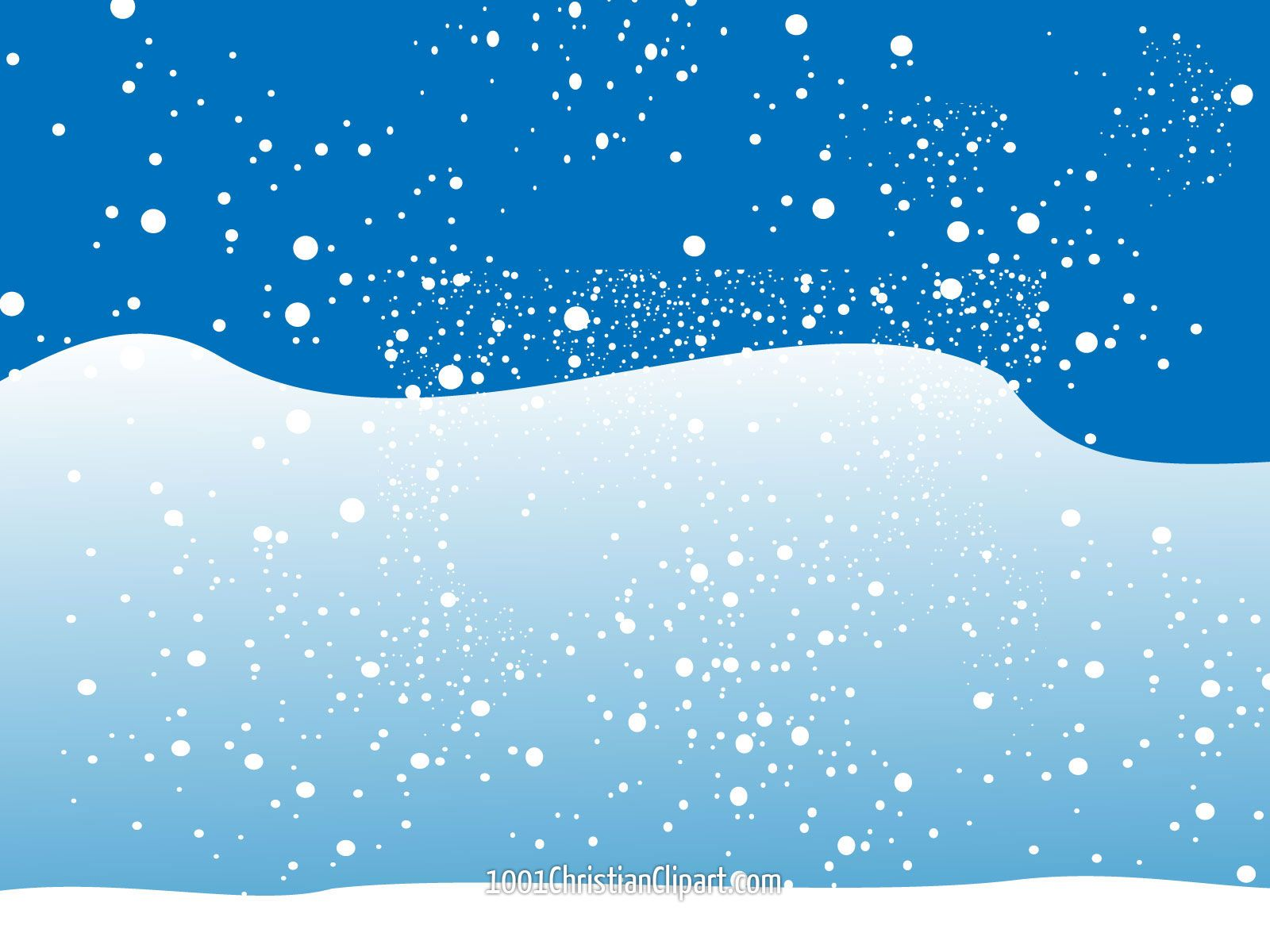 Christmas Winter Snow Scene Clip Art | Christmas Snow Free Clipart ... jpg free library