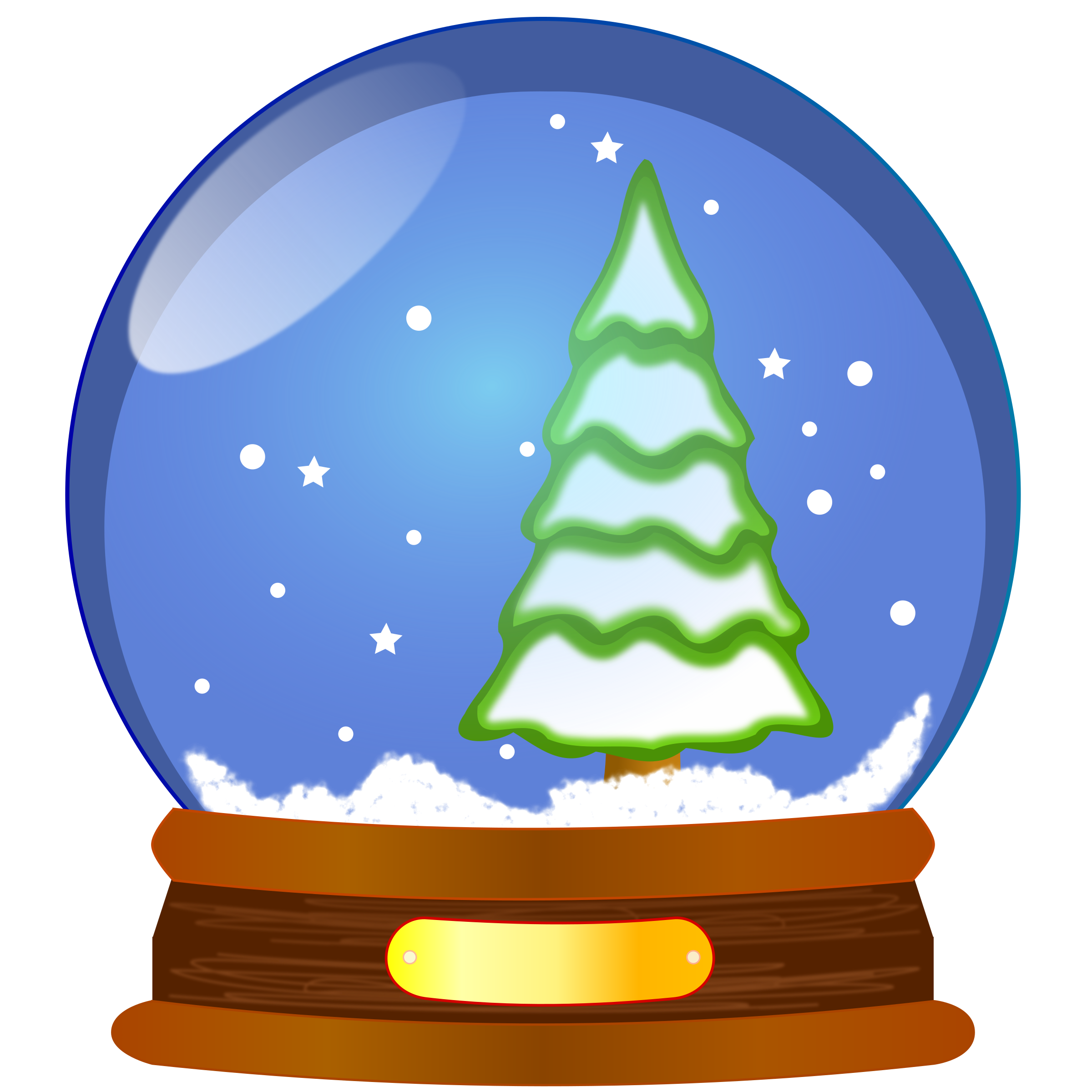 Christmas snow clipart vector library Christmas Snow Globe Clipart at GetDrawings.com | Free for personal ... vector library