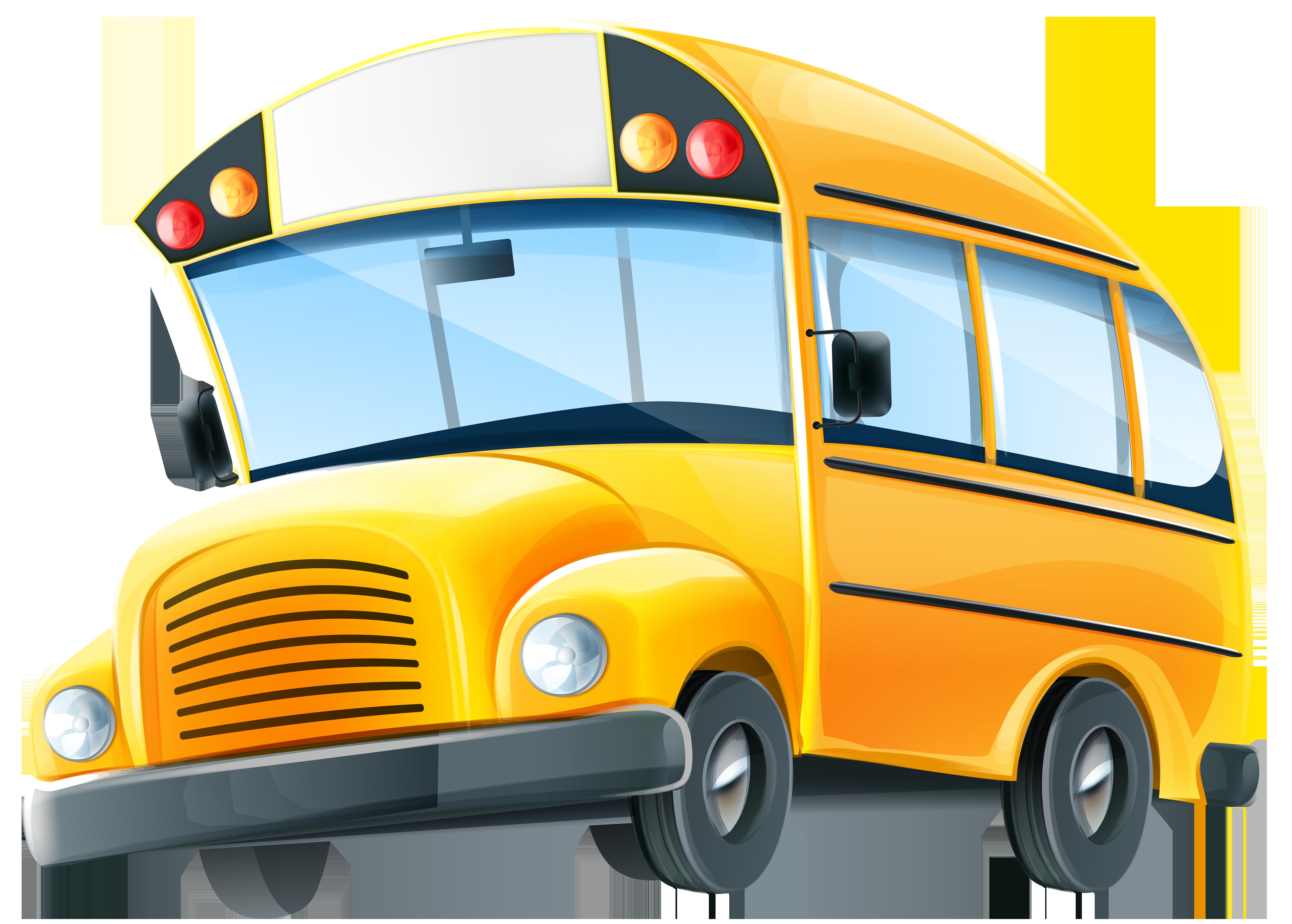 Christmas school bus clipart image freeuse stock School bus Cartoon Clip art - School Bus PNG Clip Art Image 7000 ... image freeuse stock