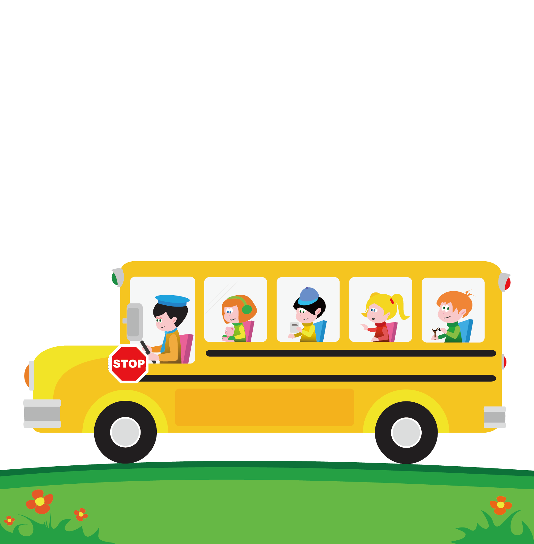 Christmas school bus clipart clip black and white School bus Cartoon Clip art - Field trips 1744*1778 transprent Png ... clip black and white