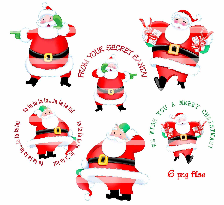 Christmas secret santa clipart image freeuse library Secret Santa Clip Art | Christmas | Secret santa, Christmas ... image freeuse library