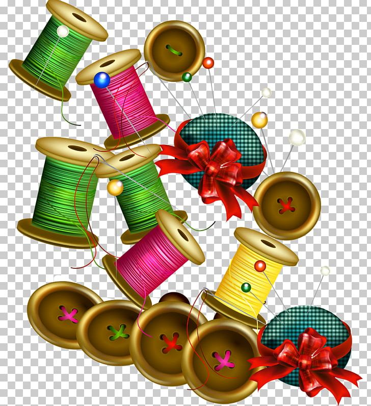 Christmas sewing clipart