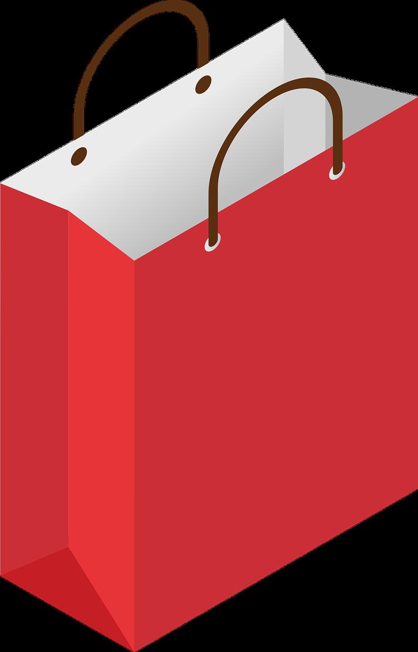 Christmas shopping bag clipart royalty free library Christmas Shopping Bag Paper Bags PNG Image - Picpng royalty free library