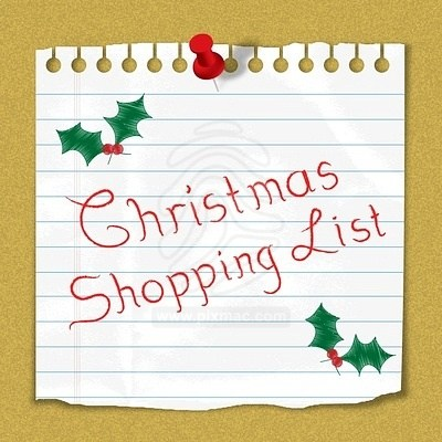 Christmas shopping list clipart svg freeuse 8 Tips for a stress free Christmas - The Time Fairy svg freeuse