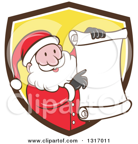 Christmas shopping list clipart clip art black and white library Royalty-Free (RF) Christmas Shopping List Clipart, Illustrations ... clip art black and white library