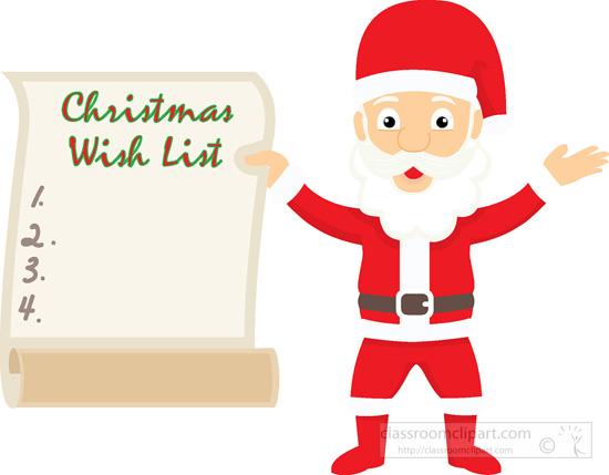 Christmas shopping list clipart image stock Clipart christmas list - ClipartFox image stock