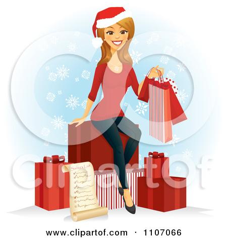 Christmas shopping list clipart freeuse stock Christmas List Clipart - Clipart Kid freeuse stock