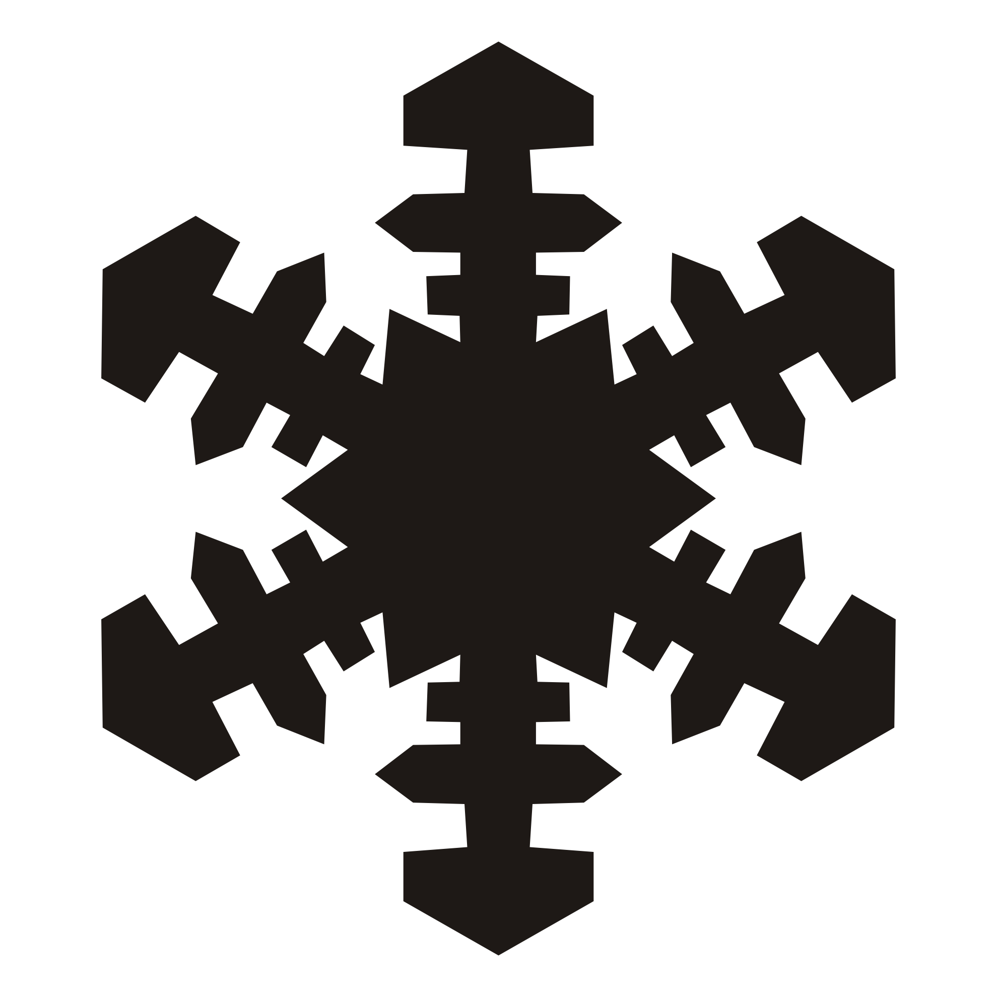 Snowflake clipart sketch freeuse download Christmas Silhouette Clipart at GetDrawings.com | Free for personal ... freeuse download