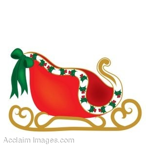 Christmas sleigh clipart picture clipart transparent download Clip Art of A Christmas Sleigh | Clipart Panda - Free Clipart Images clipart transparent download